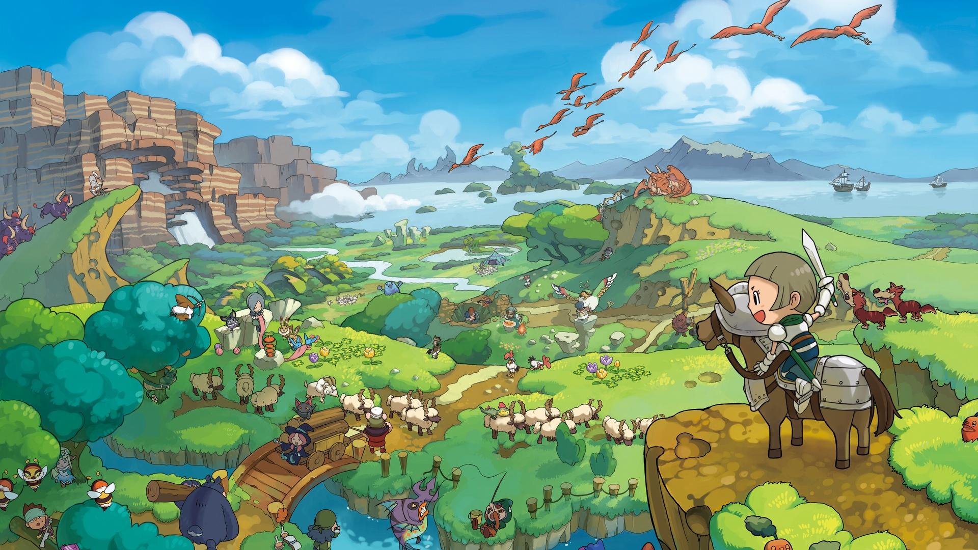 Fantasy Life já vendeu mais de 1 milhão