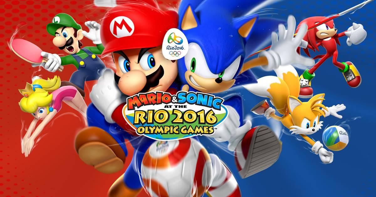 714ec2bfe Nintendo vai lançar Mario and Sonic at the Rio 2016 Olympic Games no Brasil