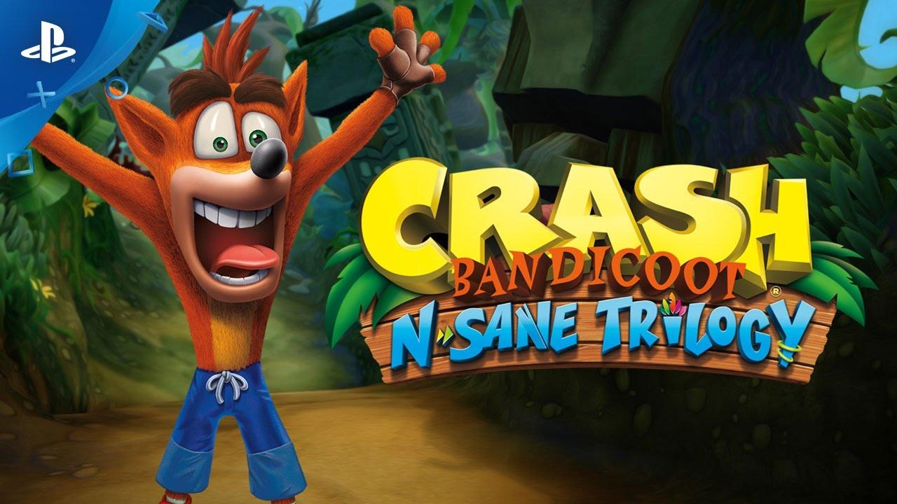 Crash Bandicoot N. Sane Trilogy recebeu novos vídeos