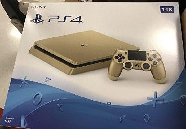 Sony pode estar preparando um PS4 Slim dourado de 1TB