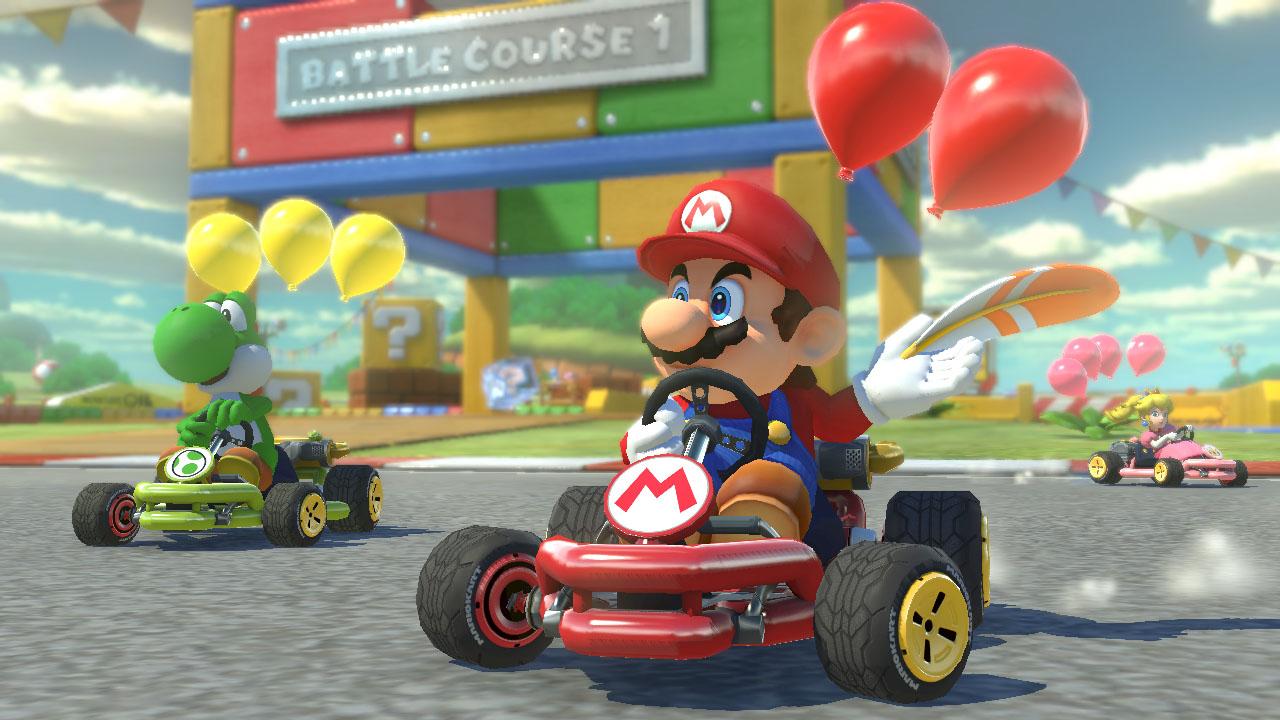 Mario Kart em realidade virtual