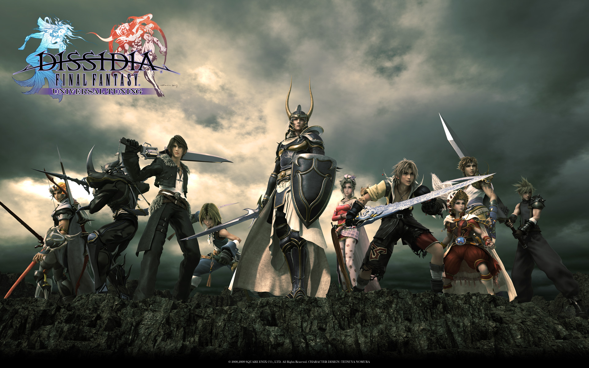 Dissidia: Final Fantasy NT terá beta